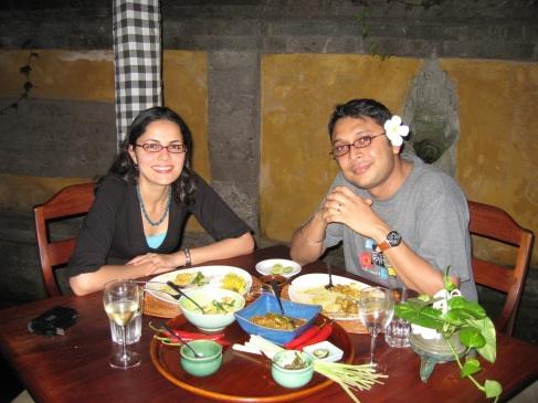 Bumbu Bali dinner